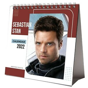 Sebastian Stan 2022 Desktop Calendar NEW Desk