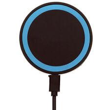 Chargeur Batterie Qi Induction Emetteur Sans Fil Station Dock Socle / Bleu