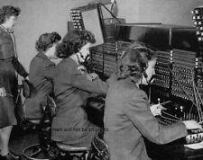 "WACs operate switchboard 8""x 10"" World War II Photo Picture #15"