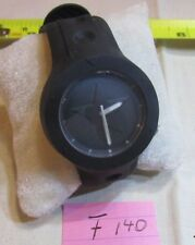 Converse Rookie VR001 Watch Black Rubber Water Resistant 50m Battery Quartz-F140