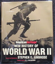 Ambrose, Stephen E.  American Heritage New History of World War II.  Signed.