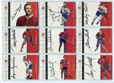 2003-04 Parkhurst Original 6 SIX , Autographs  Montreal  Frank Mahovlich  /90