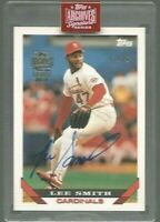 2019 Topps Archives Signature Series Lee Smith Auto #2/10 St. Louis Cardinals