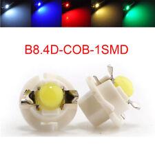 300Pcs T5 B8.4D Gauge F10 COB 1SMD LED Speedo Dashboard Dash Side Light Bulb 12V