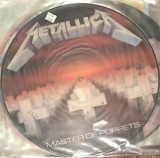 METALLICA ORIGINAL MASTER OF PUPPETS PICTURE DISC SEALED CLIFF BURTON RARE