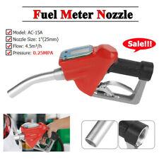 Digital Fuel Oil Gasoline Nozzle Fueling Nozzle Oil Transfer Pump Flow Meter