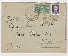 STORIA POSTALE 1943 REGNO C.50+L.1,25 SU BUSTA EX CAMPOBASSO 27/8 Z/1175