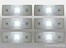 X6 24 Voltios 24v SMD LED Blanco Delante Luz de señalización Daf Volvo Mercedes