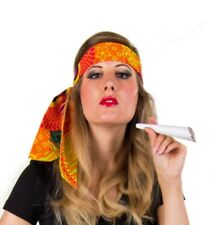 buntes Hippie Stirnband Haarband retro Party Karneval Fasching