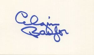 Elgin Baylor - LA Lakers, Basketball Hall of Fame - Signed 3x5 Card