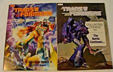 The Transformers Collected Comics #1 & #2 (1985, Marvel) Collects Issues 1-8
