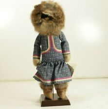 Alaska Eskimo Doll Handcrafted Alaskan Herititage The Alaskan Doll House