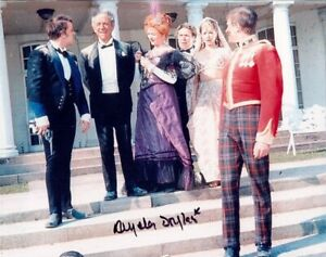 Carry On Up The Khyber comedy movie photo signed by Angela Douglas
