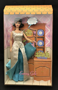 BARBIE EVENING GALA REPRODUCTION GIFT-SET~ONLY 9,995 UNITS WW (2006)NRF MINT BOX