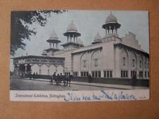 International Exhibition Nottingham  Postcard  enlargeable images down listing