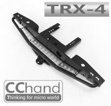 Rear Metal Bumper with Silver Chequer Plate for TRX-4