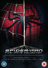 The Spider-Man Complete Five Film Collection DVD NEW