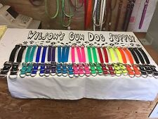 "1"" Wide, Biothane Beta Dog Collar Adapters, Any Color, Waterproof, Stainless"