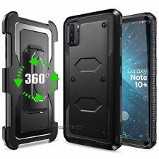 For Cell Phone Hybrid Armor Heavy Duty Case Cover Kickstand Holster Belt Clip