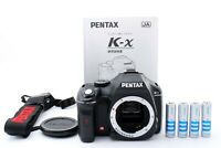 PENTAX Pentax K K-x 12.4MP Auto Focus Digital SLR Camera Black