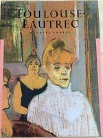 TOULOUSE LAUTREC. Douglas Cooper. Art book, classic painter.