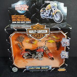 Harley-Davidson 1/20 Metal Maxx Fatboy NIB Diecast Custom Shop