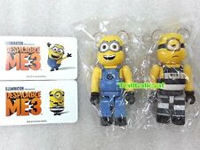 Medicom 100% Be@rbrick Series 34 Minion Set (Set of 2) Bearbrick ME3 S34
