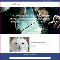 HARRY POTTER Website Business For Sale|Earn $240.00 A SALE|FREE Domain|HOSTING