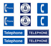 1:24 1:25 G scale model telephone signs