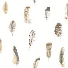 Essener Tapete Global Fusion G56402 Feather Bird Feather White Fleece Wallpaper
