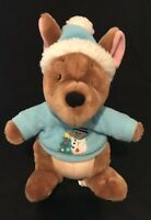"ROO - SNOWMAN - WINNIE THE POOH CHRISTMAS - STUFFED PLUSH TOY 12"" - DISNEY STORE"