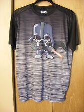 Star Wars Baby Darth Vader Super Hero Mens Shirt Small L/N