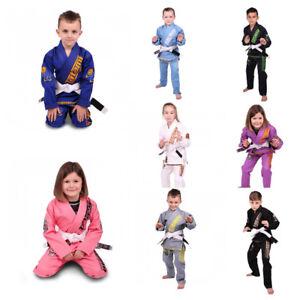 Tatami Kids Meerkatsu BJJ Gi Boys JiuJitsu Suit Girls BJJ Uniform M000 M00 M0 M1