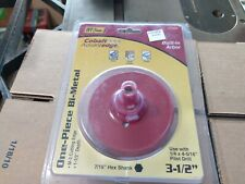 Vintage Ivy Classic One Piece Bi-Metal Hole Saw 3.5 inches new in package
