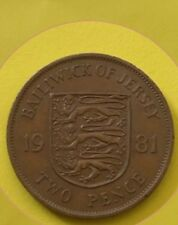 1981 Bailiwick Of Jersey 2p - Two Pence Coin