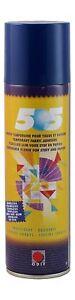 Temporary Fabric Metal Spray Adhesive Glue Colourless ODIF 505 250ml Can