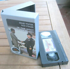 IN THE HEAT OF THE NIGHT La Calda Notte Dell'Ispettore Tibbs (1967) VHS IMPORT
