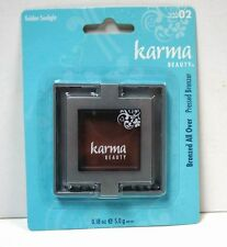 Lot of 12 Pieces -Cosmetics - Karma Beauty Bronzer Golden Sunlight