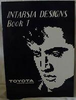 Intarsia Design Book 1- Knitting Machine Includes Elvis Elephant Horse Lion M669