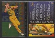 FUTERA 1996 CRICKET ELITE CRAIG McDERMOTT ONE-DAY WEAPONS CARD No 16