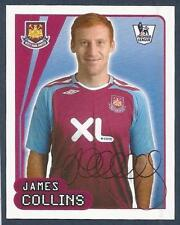 MERLIN-2008-F.A.PREMIER LEAGUE 08- #601-WEST HAM & WALES-CARDIFF-JAMES COLLINS