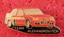 RARE BEAU PIN'S VOITURE RALLYE 309 GTI SOCERA TEAM ALEXANDROVITCH 1991