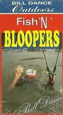 Bill Dance Fishing Outdoors Fish N Bloopers Goof Ups Funny Moments VHS Video