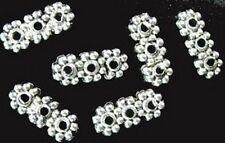 200 Pcs Tibetan Silver 3 holes spacer bar FC794