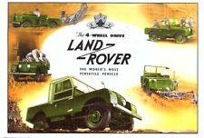 Land Rover Series 1 - Modern postcard by Vintage Ad Gallery