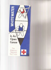 Whitewater in An Open Canoe Canoeing Brochure American National Red Cross