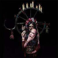 1/10 Female vampire Resin Bust Model Kits Unpainted GK