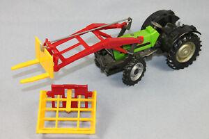 Britains Deutz DX 110 Traktor mit Frontlader (abnehmbar) Maßstab 1/32