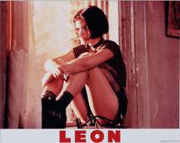 Natalie Portman leggy pose sitting in window 8x10 photo Leon The Professional
