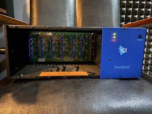 API 500-6B 6-Channel 500 Series Lunchbox Rack